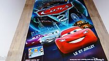 CARS  2 !  affiche cinema animation bd dessin pixar