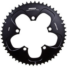 SRAM Red 2x10 Speed Powerglide Road Bike Chainring Black 110mm BCD - 52t