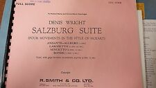 Wright: Salzburg Suite: In Mozart's Style: Brass Band: Music Score (BB3)