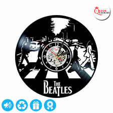 ORIGINAL GIFT Exclusive wall clock made of vinyl record BEATLES LIMITED