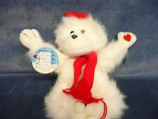 """Vintage antique retro RUSS BERRIE talking moving winter """"mumbles"""" toy doll NOS"""