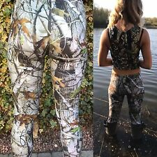 Ladies Hunting Realtree Pattern Camo Leggings Brand New One Size