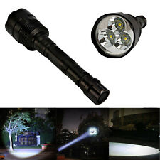 Ultra Bright 3800Lumen 5 Modes 3x XML T6 LED Flashlight 18650 Torch Light Lamp