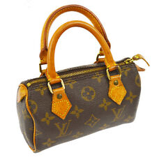 AUTHENTIC LOUIS VUITTON MINI SPEEDY HAND BAG PURSE MONOGRAM M41534 VTG A29956
