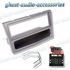 Vauxhall Corsa C 2004  Silver Single DIN Car Stereo Facia Fascia Fitting kit