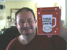 YOU ARE PERFECT FOR ME MR PERFECT BEER TANKARD & BOX GREAT XMAS GIFT!