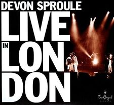 Live In London by Devon Sproule (NEW CD + DVD, Sep-2010) PUNCH HOLE IN BAR CODE