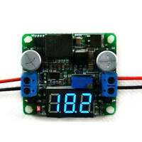 25W DC 5-25V 12V to 0.5-25V 5V 24V Buck Boost Step Up Down Module +LED voltmeter