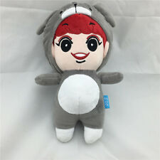 "Kpop EXO-K Park ChanYeol 8"" Plush Toy Handmade Red Hair Stuffed Doll Fans Gift"