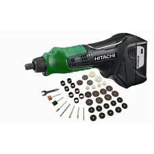 NEW! Hitachi GP10DL 12 Volt Peak Lithium Ion Mini Grinder w/ Accessories