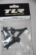 TEAM LOSI RACING Set Support Aileron Wing Stay Set Rear Mid Engine 22 TLR4161