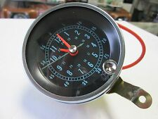 1966-67 CHEVELLE NEW FLOOR SHIFT CONSOLE CLOCK