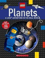 LEGO Nonfiction: Planets by Scholastic Inc Staff (2016, Paperback)