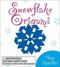 Snowflake Origami: They Sparkle   NEW