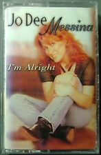 Jo Dee Messina--I'm Alright (Cassette, 1998, Curb) NEW
