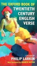 The Oxford Book of Twentieth Century English Verse (Oxford Books of Verse)  Har