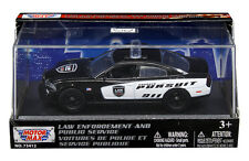 MOTOR MAX 1:43 ACRYLIC CASE 2011 DODGE CHARGER PURSUIT DIECAST CAR 79463