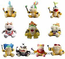 10X Super Mario Plush King Bowser & Kids Koopalings Koopa Larry Lemmy Ludwig ETC