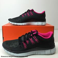 NIKE FREE 5.0 + SHIELD TRAINERS WOMENS REFLECTIVE RUNNING SHOE UK 4 RRP £130