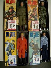 all 4 40th anniverary 12 inch gi joes mib not displayed