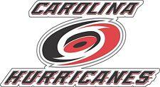 "Carolina Hurricanes Large NHL Hockey sticker 12.5""x 7"""