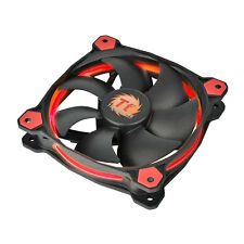 THERMALTAKE riing 12 LED ROSSO - 12cm RED RING LED CASE PC FAN - 40,6 CFM