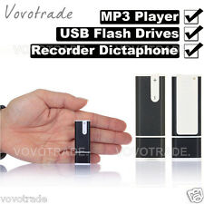 8GB 3 in 1 USB Flash Drives Pen Disk Audio Voice Recorder Dictaphone MP3 Player