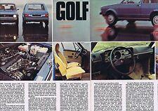 PUBLICITE ADVERTISING 215 1974 VOLKSWAGEN J ai essayé la Golf
