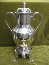 Large art deco (1925) french sterling silver samovar hot water fountain 2138gr