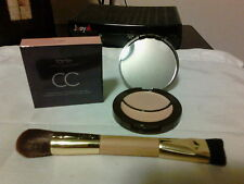 Tarte Colored Clay CC Concealer & Corrector LIGHT & Double End Brush W/Receipt
