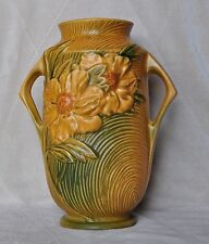 """Vintage Peony Vase - Roseville  USA - 65 - 9""""  Very good condition"""