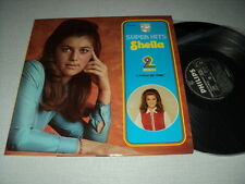 "SHEILA DOUBLE ALBUM SUPER HITS 2 DISQUES ""L'ECOLE EST FINIE"" LABELS EN PAPIER"