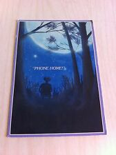Vintage  E.T. the Extra Terrestrial alien Movie Phone Home Greeting card Unused