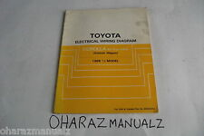1988.5 TOYOTA Corolla All-Trac 4WD Wagon Electrical Wiring Diagram Repair Manual