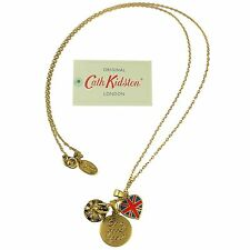 Cath Kidston Necklace London Cluster *100% authentic* BRAND NEW & WITH TAGS
