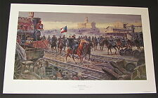 Mort Kunstler - Order Out Of Chaos -  Collectible Civil War Print