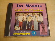 ACCORDEON CD / JOS MOMMEN - VOLKS BAL POPULAIRE NR. 1