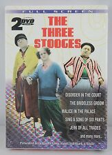 The Three Stooges - 2-Pack (DVD, 2003) Boxed Set New Factory Sealed