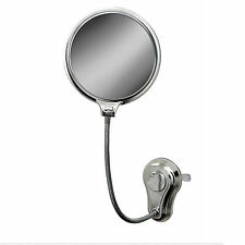 NEW SUCTION EXTENDABLE FOGLESS WALL MIRROR SHAVING MAKEUP BATHROOM