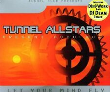 Tunnel Allstars pres. Accuface Let your mind fly (5 versions, 2001) [Maxi-CD]