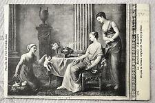 """CPA """" Palais de Fontainebleau - La Marchande d'Amours - D'après tableau de Vien"""