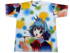 Mens Manga Cartoon Anime Print T-shirt Adult Japanese Cool Tshirt Hentai XL New