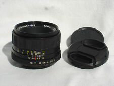 YASHICA AUTO YASHINON - DS 50 mm F 2 lens for PENTAX M42 screw mount.
