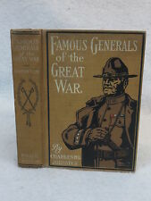 Charles H. L. Johnston FAMOUS GENERALS OF THE GREAT WAR 1919 HC 1stEd Illust'd
