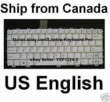 ASUS EEE PC X101CH 1025C 1025CE Keyboard - US English - White