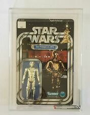 Star Wars 1978 ANH 12 Back C-3PO MOC Kenner Figure Unpunched AFA 85 w/ 90 Sub