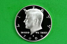 2008-S Kennedy  Half Dollar Deep Cameo US GEM Proof (c/n Clad)