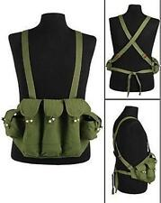 REPLICA VIETNAM WAR NORTH KOREA VIETCONG CHEST RIG in OLIVE GREEN