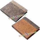 Business Men's Leather Wallet ID Bifold Credit Card Holder Purse Clutch Pockets