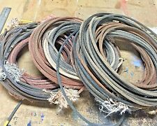 One (1) Used Lariat Team Rope For Décor or Practice Roping - Free Shipping